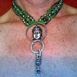 Buddha's Garden 5 Micro-Macrame Necklace by The Beading Yogini
