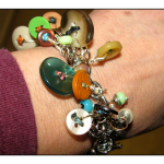 Beads & Buttons Bracelet 1 by The Beading Yogini