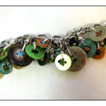 Beads & Buttons Bracelet 3 by The Beading Yogini