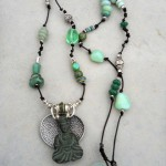 Buddha Necklace Long by The Beading Yogini