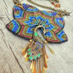 2 Feather Challenge by The Beading Yogini