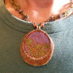 Forest Floor Challenge Necklace V3 by The Beading Yogini