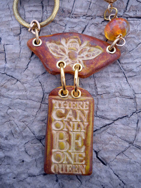 Inspired By Nature Bee Challenge Necklace