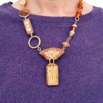 IBN Bee Challenge Short Necklace by The Beading Yogini
