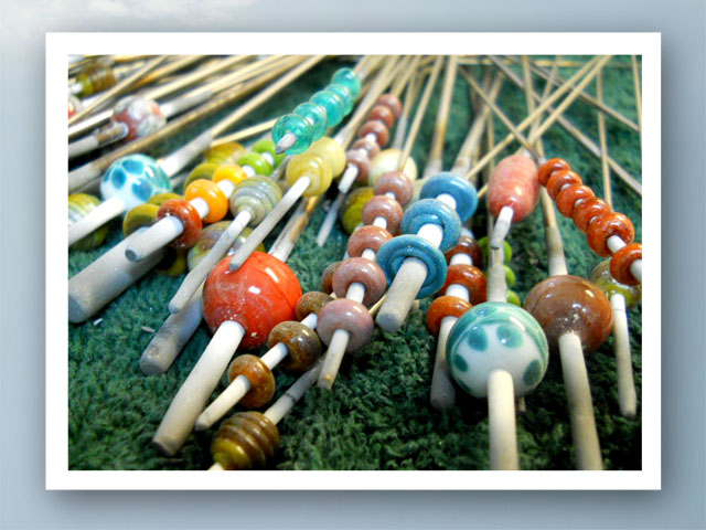 Bead Table Wednesday July 6, 2011 by TBY