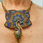 IBN Feather Challenge Necklace by The Beading Yogini