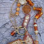 IBN Bee Challenge Necklace by The Beading Yogini