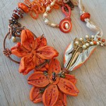 IBN Tigerlilly Challenge Necklace by The Beading Yogini