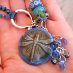 IBN Dragonfly Focal Bead by The Beading Yogini