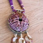 IBN Sea Urchin Challenge Necklace Full by The Beading Yogini