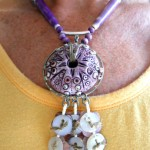 IBN Sea Urchin Challenge Necklace Y by The Beading Yogini