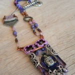 Shadow Box Challenge Necklace Full by The Beading Yogini