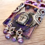 Shadow Box Focal Close Up By The Beading Yogini
