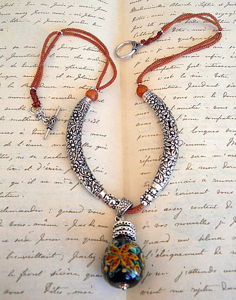 BSBP 2011 Tigerlilly Necklace Full Shot by The Beading Yogini