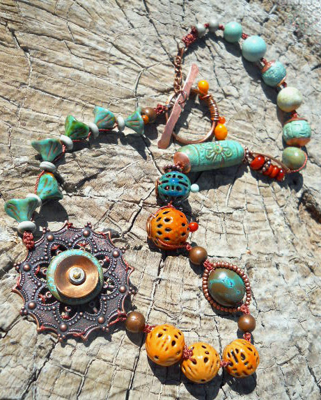 BSBP Necklace One A by The Beading Yogini