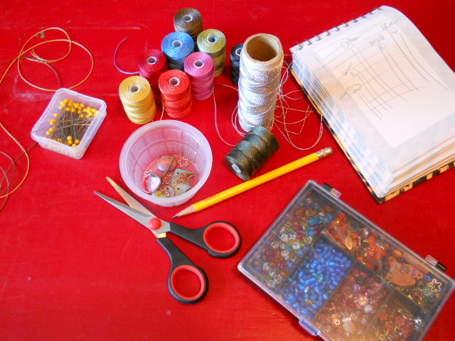 Bead Table Wednesday 9.7.11 by The Beading Yogini