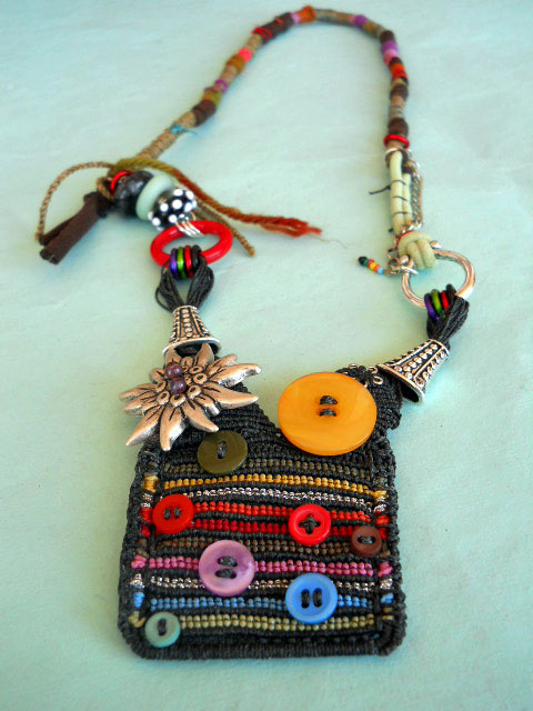 SEP ABS Full Necklace by The Beading Yogini