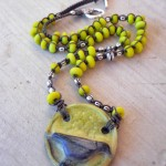 As The Crow Flys Necklace By The Beading Yogini