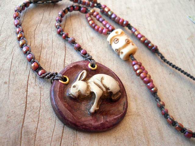 own The Rabbit Hole Necklace By The Beading Yogini