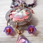 LB Challenge Lavendar Necklace Long View By The Beading Yogini