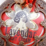 LB Challenge Lavendar Pendant Close Up by The Beading Yogini