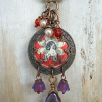 LB Challenge Lavender Pendant By The Beading Yogini