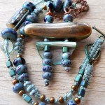 LB Challenge Pagoda Necklace Full View by The Beading Yogini