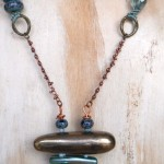 LB Challenge Pagoda Necklace Long View By The Beading Yogini