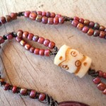 Rabbit Whole Necklace Strands by The Beading Yogini