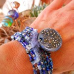 AT OCT Reader Challenge Bracelet by The Beading Yogini