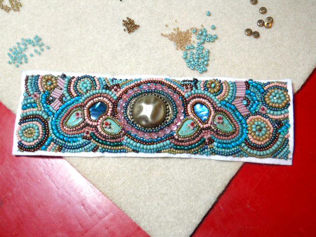 Challenge of Color Step 2 by The Beading Yogini