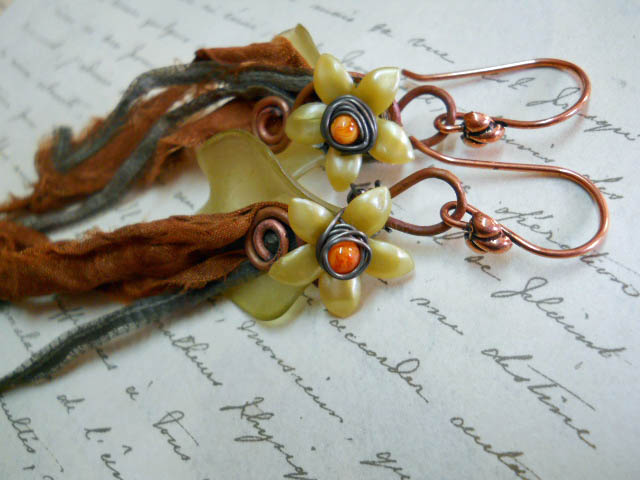 NOVABS Earrings 2 by The Beading Yogini