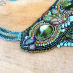 Owl Seed bead Necklace Strings by The Beading Yogini