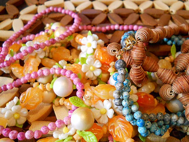 Vintage Thrift Beads by The Beading Yogini