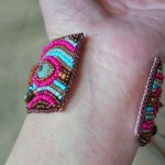 Back View Cuff 2 by The Beading Yogini