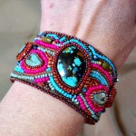 Front view cuff 2 by the Beading Yogini