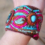 Side View Cuff 2 by The Beading Yogini