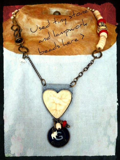 Genuine Love Necklace by The Beading Yogini