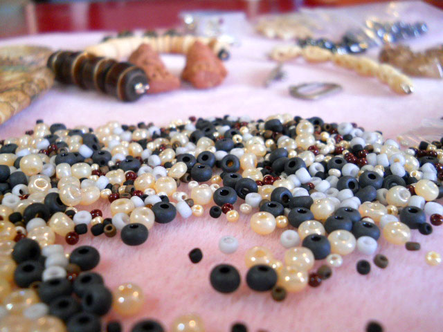 Seed Bead Soup from Morwyn Mullins