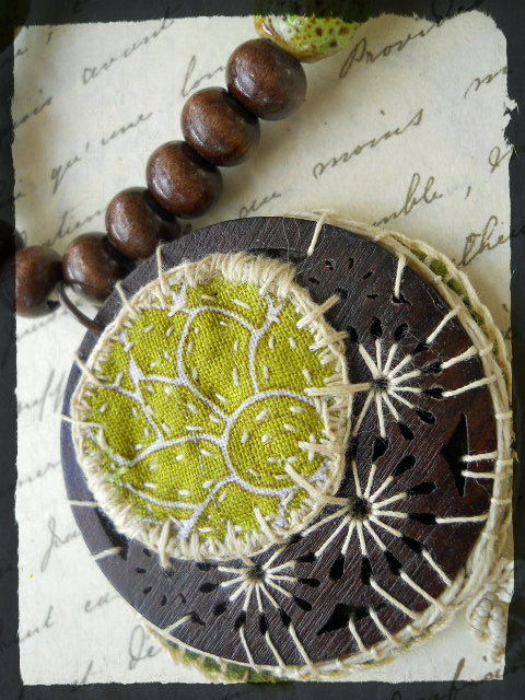 Succulent Focal by The Beading Yogini