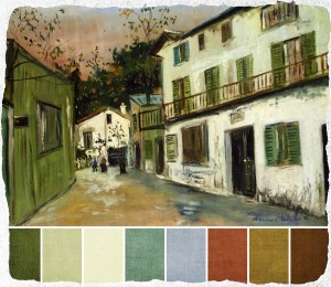 may 2012 - maurice utrillo italians house at monmartre palette 1 copy brandi hussey
