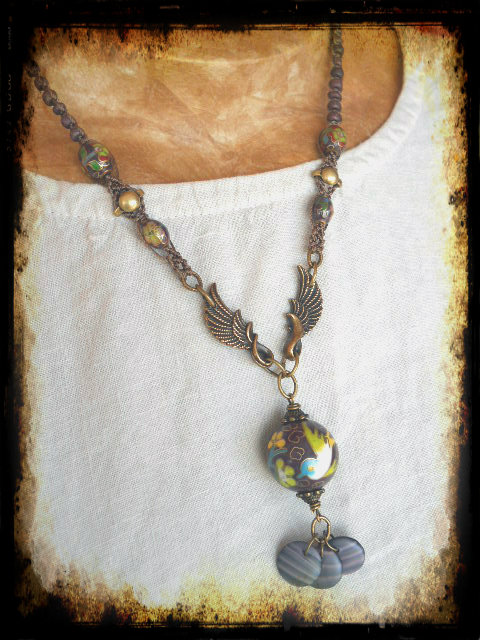 BSBP6FlightNecklace1 by The Beading Yogini