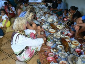 Tonga Feast photo from www.symoonraker.com