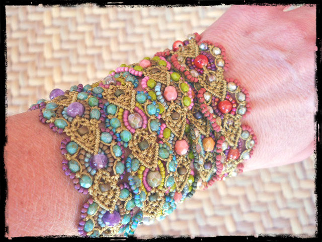 cactus garden series 2 by The Beading Yogini