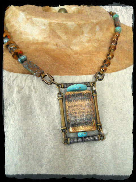 3KBS Prosperity Necklace by The Beading Yogini