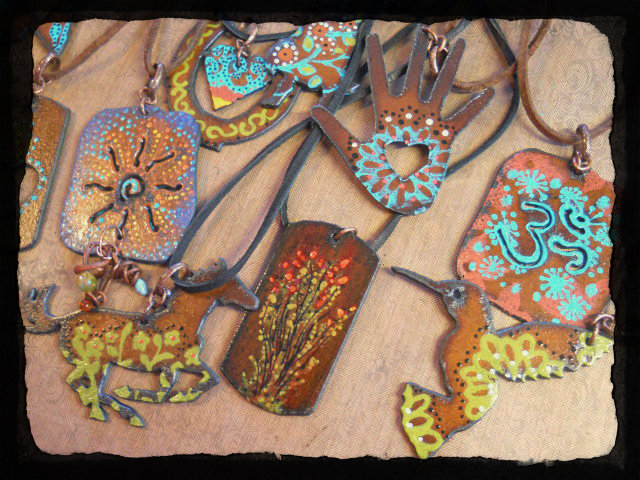 Iron Tattoos 2 by The Beading Yogini