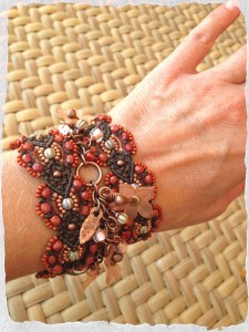Sept ABS Bracelet View by The Beading Yogini