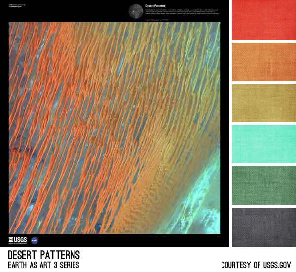 desert patterns Challenge of Color