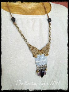 Union Necklace by The Beading Yogini